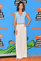 Jama Williamson at Nickelodeon's 2018 Kids' Choice Awards at The Forum, Los Angeles, USA 24 March 2018<br /> Picture: Paul Smith/Featureflash/SilverHub 0208 004 5359 sales@silverhubmedia.com