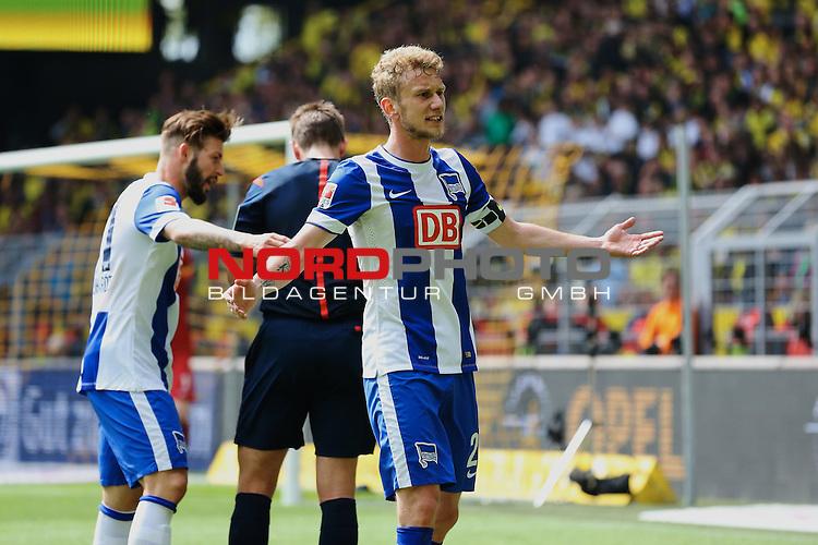 09.05.2015, Signal Iduna Park, Dortmund, GER, im Bild Fabian Lustenberger ( Hertha BSC Berlin #28)<br /> <br /> Foto &copy; nordphoto / Rauch