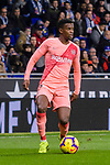 Nelson Semedo of FC Barcelona in action during the La Liga 2018-19 match between RDC Espanyol and FC Barcelona at Camp Nou on 08 December 2018 in Barcelona, Spain. Photo by Vicens Gimenez / Power Sport Images