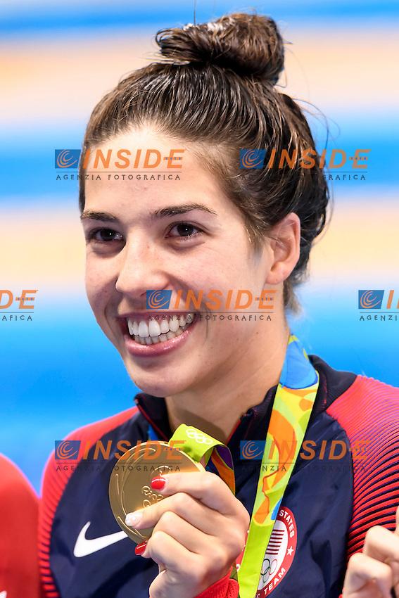 DIRADO Maya USA Women's 200m Backstroke Gold Medal <br /> Rio de Janeiro 12-08-2016 Olympic Aquatics Stadium <br /> Swimming Nuoto <br /> Foto Andrea Staccioli/Deepbluemedia/Insidefoto