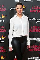 "Corina Randazzo attend the Premiere of the movie ""El club de los incomprendidos"" at callao Cinema in Madrid, Spain. December 1, 2014. (ALTERPHOTOS/Carlos Dafonte) /NortePhoto<br />