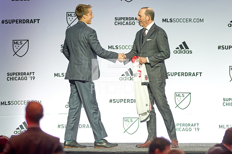 Chicago, IL - Friday January 11, 2019: The MLS SuperDraft 2019 presented by adidas at McCormick Place.
