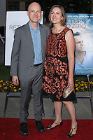 "HOLLYWOOD, LOS ANGELES, CA, USA - MAY 01: Paul Jaconi Biery, Trina Jaconi Biery at the Los Angeles Premiere Of Lifetime Television's ""Return To Zero"" held at Paramount Studios on May 1, 2014 in Hollywood, Los Angeles, California, United States. (Photo by Xavier Collin/Celebrity Monitor)"