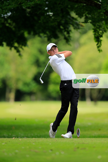 Oliver Clarke (England) during the final round of the 2015 Irish Boys Amateur Open Championship, Tuam Golf Club, Tuam, Co Galway. 26/06/2015<br /> Picture: Golffile | Fran Caffrey