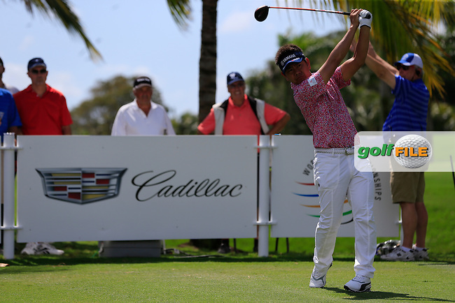 Hiroyuki Fujita (JAP) during the 2nd round at the WGC Cadillac Championship, Blue Monster, Trump National Doral, Doral, Florida, USA<br /> Picture: Fran Caffrey / Golffile