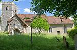 Village parish church of Saint Mary, Little Blakenham, Suffolk, England, UK