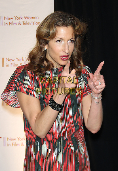NEW YORK, NY - DECEMBER 11: Alysia Reiner pictured at the  34th Annual New York Women In Film And Television Muse Awards at New York Hilton Midtown on December 11, 2014 in New York City. <br /> CAP/MPI/RW<br /> &copy;RW/ MediaPunch/Capital Pictures