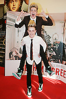 22/6/2010. Get Him to the Greek Irish Premiere.  Jedward  are pictured arriving at the Savoy Cinema Dublin for the Irish Premiere of Get Him to the Greek. Picture James Horan/Collins Photos