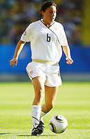 USA's Vicki DiMartino during the FIFA U20 Women's World Cup at the Rudolf Harbig Stadium in Dresden, Germany on July 14th, 2010.