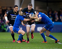 Bath Rugby's Ruaridh McConnochie in action during todays match<br /> <br /> Photographer Bob Bradford/CameraSport<br /> <br /> Heineken Champions Cup Pool 1 - Bath v Leinster - Saturday 8th December 2018 - The Recreation Ground - Bath<br /> <br /> World Copyright © 2018 CameraSport. All rights reserved. 43 Linden Ave. Countesthorpe. Leicester. England. LE8 5PG - Tel: +44 (0) 116 277 4147 - admin@camerasport.com - www.camerasport.com