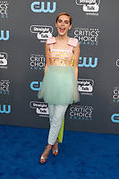 Kiernan Shipka attends the 23rd Annual Critics' Choice Awards at Barker Hangar in Santa Monica, Los Angeles, USA, on 11 January 2018. Photo: Hubert Boesl - NO WIRE SERVICE - Photo: Hubert Boesl/dpa /MediaPunch ***FOR USA ONLY***
