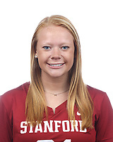 Stanford, CA - September 20, 2019: Maggie Bellaschi, Athlete and Staff Headshots