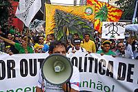 Manifestacao Marcha da Maconha. Avenida Paulista. Sao Paulo. 2012. Foto de Juca Martins.