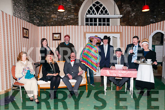 "Tons Of Money: The cast of Kilflynn's Drama Group production of ""Tons of Money"" in rehearsal in St. Columbanus Hall, Kilflynn. Included in the photo are Marion Lynch, Geraldine Parker, Andrew Byrne, Karen Hayes, Laura Fitzell, Sean Guheen, Graham Harris, Mike Neen, Ian O'Carroll & Tommy Neenan."