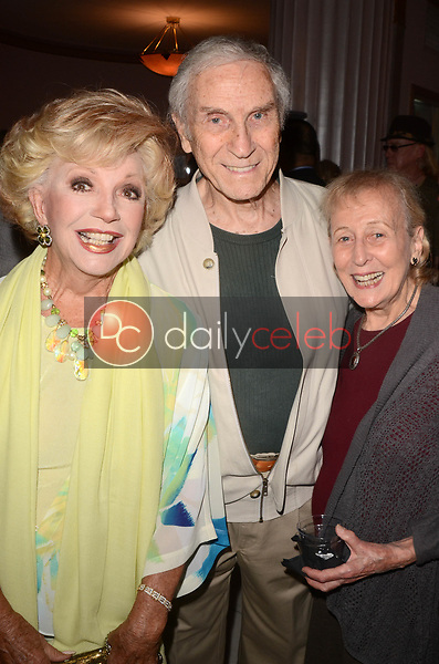 """Ruta Lee, Peter Mark Richman, Helen Richman<br /> at Rich Little's signing of  """"People I've Known and Been: Little by Little,"""" honoring George Burns, Johnny Carson and Dean Martin with a display at the Hollywood Museum of the props he has used to impersonate them over the years, The Hollywood Museum, Hollywood, CA 06-01-18<br /> David Edwards/DailyCeleb.com 818-249-4998"""