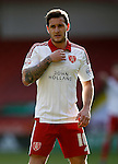 Billy Sharp of Sheffield Utd during the Sky Bet League One match at Bramall Lane Stadium. Photo credit should read: Simon Bellis/Sportimage