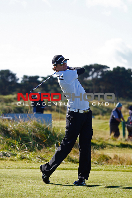 04 October 2012. Austin Johnson (USA)  competing in The European Tour Alfred Dunhill Links Championship Golf Tournament, played on the Carnoustie Golf Course.                                                                                                       Foto nph /  Mitchell Gunn/ESPA *** Local Caption ***