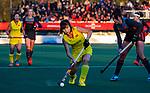 UTRECHT - Jinrong Zhang (China)   tijdens  de Pro League hockeywedstrijd wedstrijd , Nederland-China (6-0) .  COPYRIGHT  KOEN SUYK