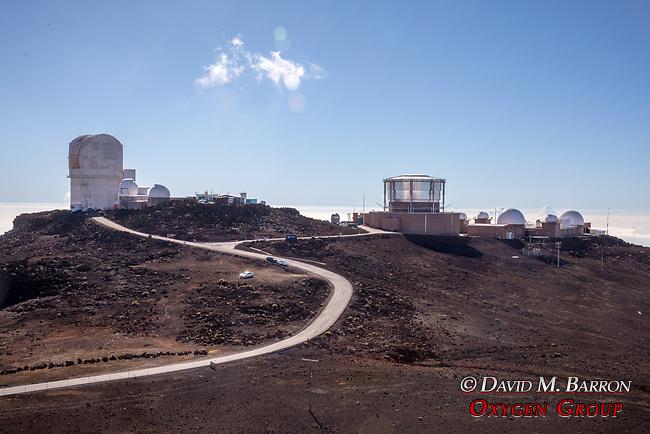 Telescope Observatories At Haleakala Summit
