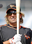 9 March 2007: Baltimore Orioles infielder Kevin Millar prepares to take batting practice prior to facing the Washington Nationals at Fort Lauderdale Stadium in Fort Lauderdale, Florida. <br /> <br /> Mandatory Photo Credit: Ed Wolfstein Photo