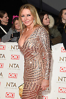 Carol Vorderman<br /> at the National TV Awards 2017 held at the O2 Arena, Greenwich, London.<br /> <br /> <br /> &copy;Ash Knotek  D3221  25/01/2017