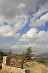 Israel, Upper Galilee, Agamon Hula lookout