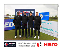 Marcus Kinhult (SWE) on the 10th tee during the Pro-Am of the Betfred British Masters 2019 at Hillside Golf Club, Southport, Lancashire, England. 08/05/19<br /> <br /> Picture: Thos Caffrey / Golffile<br /> <br /> All photos usage must carry mandatory copyright credit (&copy; Golffile | Thos Caffrey)