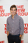 Daniel Sovich attends the cast photo call for the New Group Production on 'Downtown Race Riot' on October 23, 2017 at The New 42nd Street Studios in New York City.