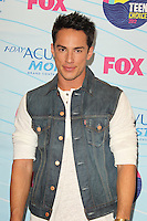 UNIVERSAL CITY, CA - JULY 22: Michael Trevino in the press room at the 2012 Teen Choice Awards at Gibson Amphitheatre on July 22, 2012 in Universal City, California. &copy; mpi28/MediaPunch Inc. /NortePhoto.com*<br />