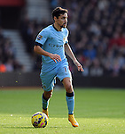 Jesus Navas of Manchester City<br />  - Barclays Premier League - Southampton vs Manchester City - St Mary's Stadium - Southampton - England - 30th November 2014 - Pic Robin Parker/Sportimage