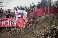 Gianni Vermeersch (BEL/Steyaerts-Verona)<br /> <br /> men's race<br /> CX Soudal Classics Leuven/Belgium 2017