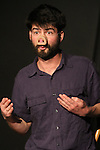 "Anthony Oberbeck presents ""I Am the Horizon"" at Sketchfest NYC, 2011. UCB Theatre."