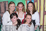 MUSICAL: Dancers in the Oliver Hurley Production of Jack and the Beanstalk Musical at Siamsa Ti?re, Tralee on Thursday night were front l-r: Rachel O'Neill and Abby Herrick. Back l-r: Shauna O'Dowd, Janna Foley and Ruth Mulligan.   Copyright Kerry's Eye 2008