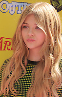 HOLLYWOOD, CA - OCTOBER 22: Chloe Moretz arrives at Variety's 5th annual Power Of Youth event presented by The Hub at Paramount Studios on October 22, 2011 in Hollywood, California. /NortePhoto.com<br />