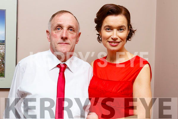 Pat Keane and Annette Murphy taking part in the Ballymac Strictly Love dancing in the Ballygarry House Hotel on Saturday.