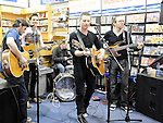 The Enemies performing at the Record Store day at CD World in the Drogheda Town Centre. Photo: Colin Bell/pressphotos.ie