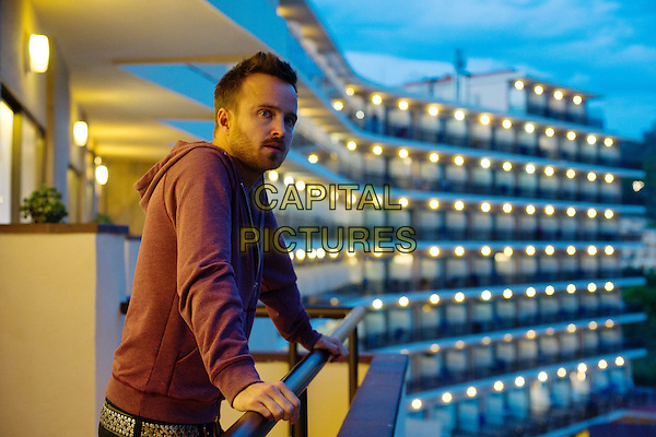 Aaron Paul<br /> in A Long Way Down (2014) <br /> *Filmstill - Editorial Use Only*<br /> CAP/FB<br /> Image supplied by Capital Pictures