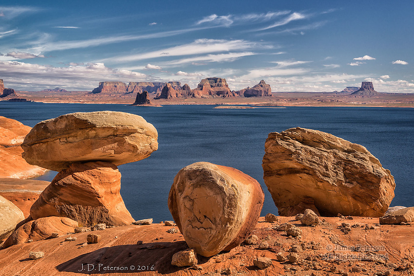 View from Cookie Jar Butte, Lake Powell