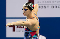 MASINI LUCCETTI Chiara ITA<br /> 100 freestyle women<br /> heats<br /> FINA Airweave Swimming World Cup 2015<br /> Doha, Qatar 2015  Nov.2 nd - 3 rd<br /> Day0 - Nov. 1 st<br /> Photo G. Scala/Deepbluemedia/Insidefoto