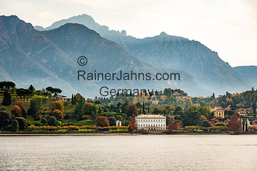 Italy, Lombardia, Bellagio: villa Melzi with park | Italien, Lombardei, Bellagio: die Villa Melzi mit Park direkt am Comer See