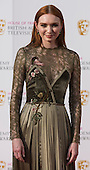 London, UK. 8 May 2016. Poldark actress Eleanor Tomlinson. Red carpet  celebrity arrivals for the House Of Fraser British Academy Television Awards at the Royal Festival Hall.