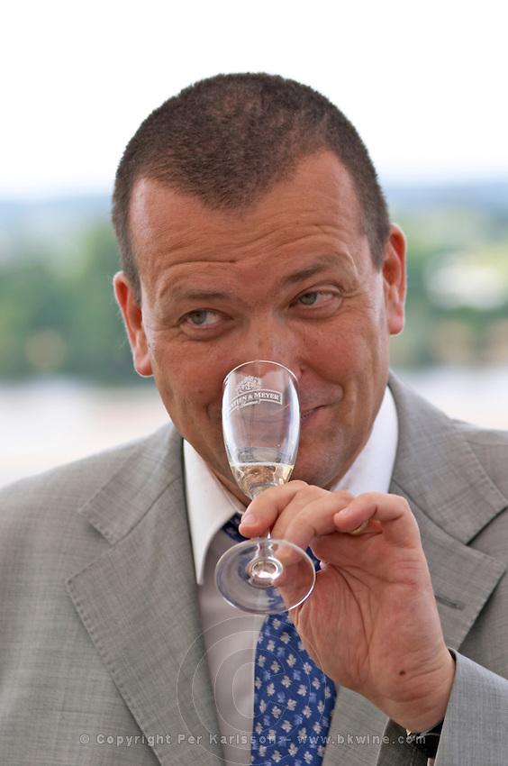 Nicolas Francois, chef de cave, winemaker. Gratien & Meyer, Saumur, Anjou, Loire, France