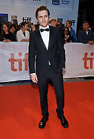 07 September 2017 - Toronto, Ontario Canada - Sverrir Gudnason. 2017 Toronto International Film Festival - &quot;Borg/McEnroe&quot; Premiere held at Roy Thomson Hall. <br /> CAP/ADM/BPC<br /> &copy;BPC/ADM/Capital Pictures
