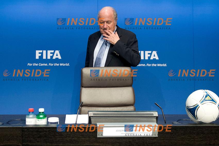 Josef Sepp Blatter.17/7/2012 Zurigo.Comitato Esecutivo FIFA .Foto Andy Mueller/freshfocus/Insidefoto