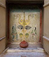 shiva shrine in Fort  Fort Mehrangarh, Jodhpur, Rajastan, India
