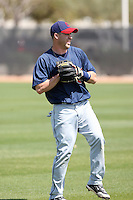Jason Kipnis, Cleveland Indians 2010 minor league spring training..Photo by:  Bill Mitchell/Four Seam Images.