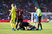Injury concern for Philip Billing of AFC Bournemouth during AFC Bournemouth vs Manchester City, Premier League Football at the Vitality Stadium on 25th August 2019