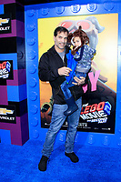"""LOS ANGELES - FEB 2:  Johnathon Schaech, Camden Quinn Schaech at """"The Lego Movie 2: The Second Part"""" Premiere at the Village Theater on February 2, 2019 in Westwood, CA"""