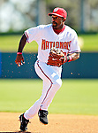 6 March 2007: Washington Nationals infielder Tony Womack in Grapefruit League action against the Atlanta Braves at Space Coast Stadium in Viera, Florida.<br /> <br /> Mandatory Photo Credit: Ed Wolfstein Photo