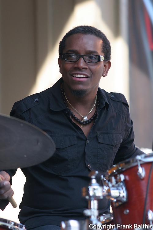 Francisco Mela on drums